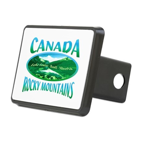 Canada Rockies Rectangular Hitch Cover