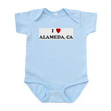 I Love Alameda Infant Creeper