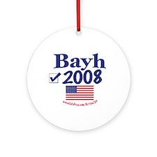 Evan Bayh Vote Blue 2008 Ornament (Round)