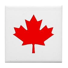 Cute Maple leaf Tile Coaster