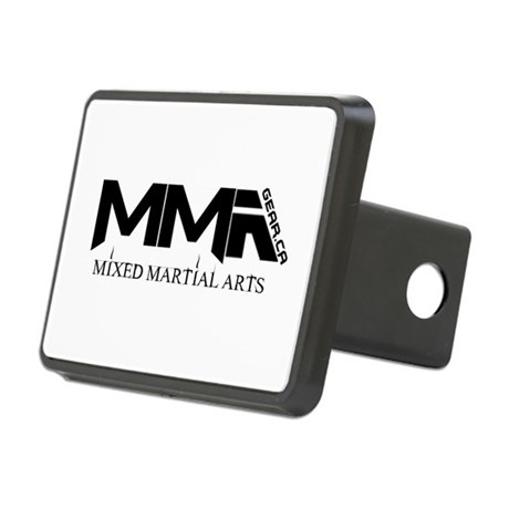 MMA Gear.ca Black Rectangular Hitch Cover