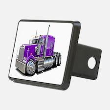 Kenworth W900 Purple Truck Hitch Cover