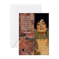 Morris/Ruskin Greeting Card