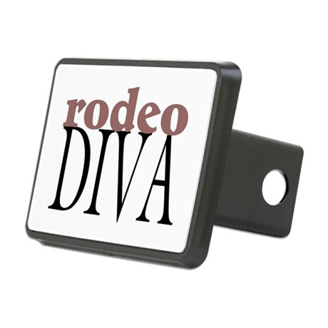 Rodeo Diva Rectangular Hitch Cover