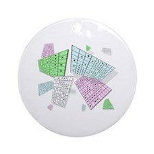 Sudoku Mad Ornament (Round)