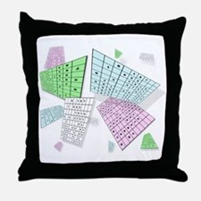 Sudoku Mad Throw Pillow