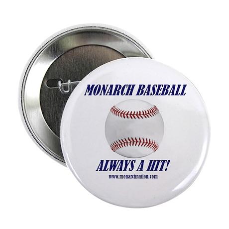 "Monarch Baseball 2.25"" Button (10 pack)"