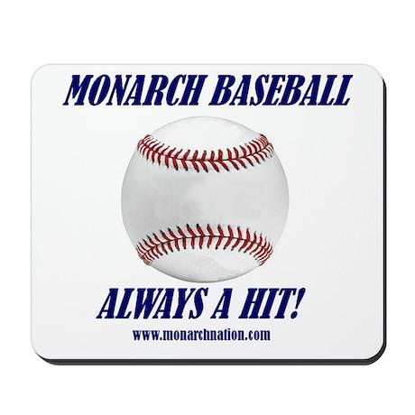 Monarch Baseball Mousepad