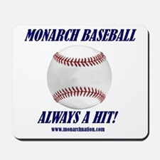Monarch Baseball Mousepad