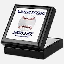Monarch Baseball Keepsake Box