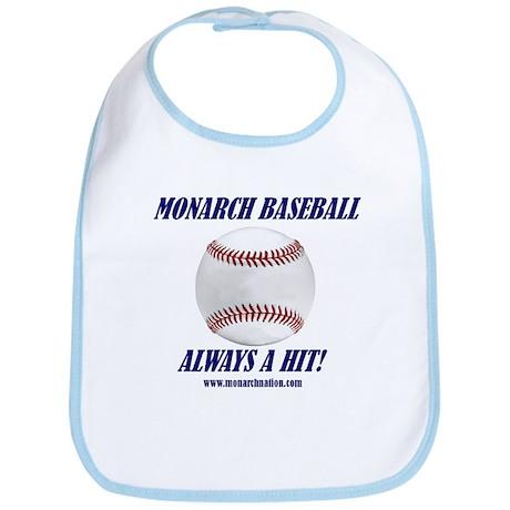 Monarch Baseball Bib