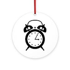 Alarm clock Ornament (Round)