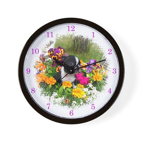 Boston terrier clock Wall Clock