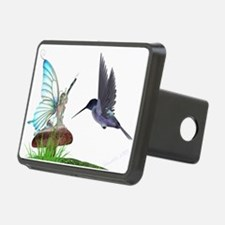 Hummingbird and Fairy Hitch Cover