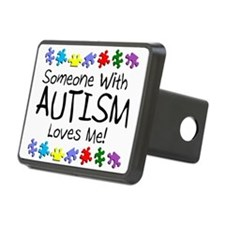 Someone With Autism Loves Me! Hitch Cover