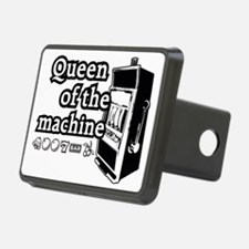 Queen of the machine Rectangular Hitch Coverle)