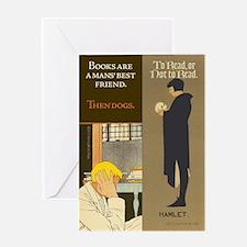 Friend/Hamlet Greeting Card