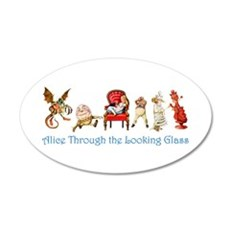 Alice Through the Looking Gl Wall Decal