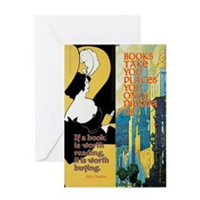 Book Power Greeting Card