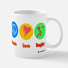 Peace Love Rugby 6000.png Mug