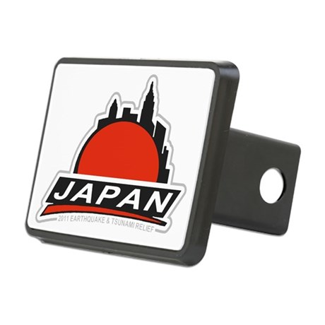 Japan Relief Rectangular Hitch Coverle)
