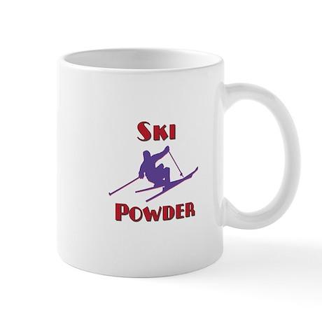 Ski Powder Mug