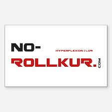 No-Rollkur.com Decal