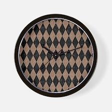 DIA1 BK-MRBL BR-PNCL Wall Clock