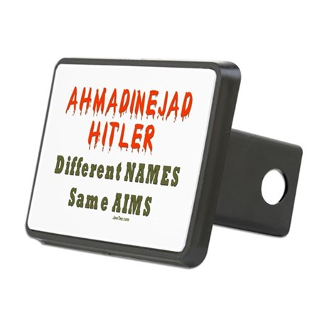 Ahmadinejad Hitler Rectangular Hitch Cover