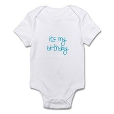 """its my birthday"" Infant Bodysuit"