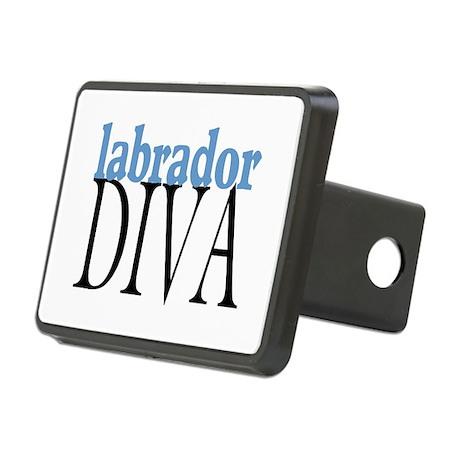 Labrador Diva Rectangular Hitch Cover