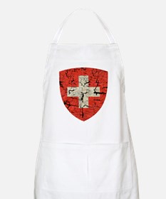 Swiss Coat of Arms Distressed Apron