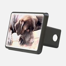 Chocolate Lab Hitch Cover