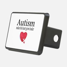 Autism Makes The Heart Grow Fonder Hitch Cover