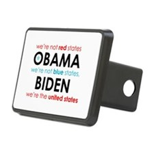 Blue States Red States Hitch Cover