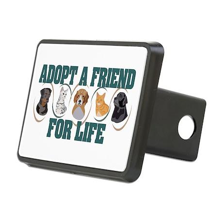 Adopt A Friend Rectangular Hitch Cover