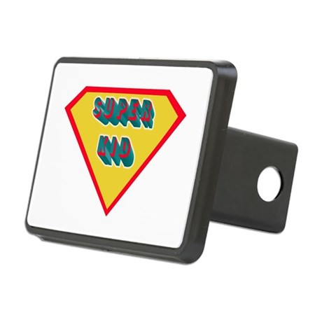 Superkid Rectangular Hitch Cover