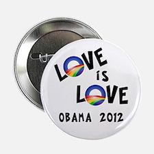 "Cool Pro obama lgbt 2.25"" Button"