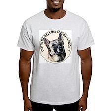 BELGIAN MALINOIS ADDICT Ash Grey T-Shirt