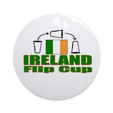 Cool Guiness beer Ornament (Round)