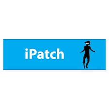 iPatch Bumper Bumper Sticker