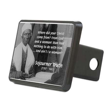 Lincoln with Sojourner Truth Rectangular Hitch Cov