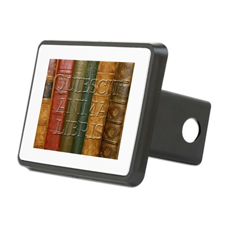 """Quiescit Anima Libris"" Rectangular Hitch Cover"
