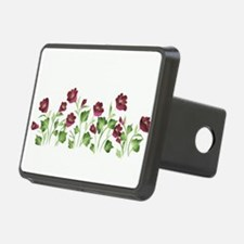 Purple Poppies Hitch Cover