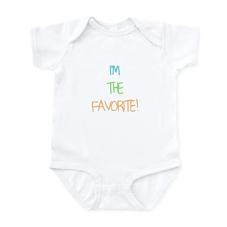 IM THE FAVORITE Infant Bodysuit