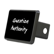 Question Authority Hitch Cover