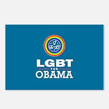 LGBT for Obama Postcards (Package of 8)