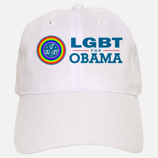 LGBT for Obama Baseball Baseball Cap