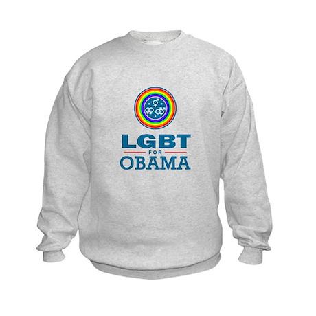 LGBT for Obama Kids Sweatshirt