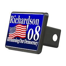 Funny Bill richardson for president Rectangular Hitch Cover